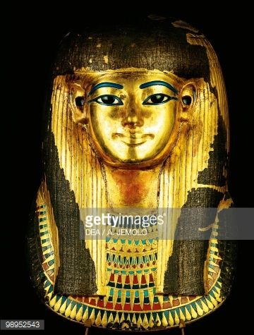 Death mask of Tuya from Thebes