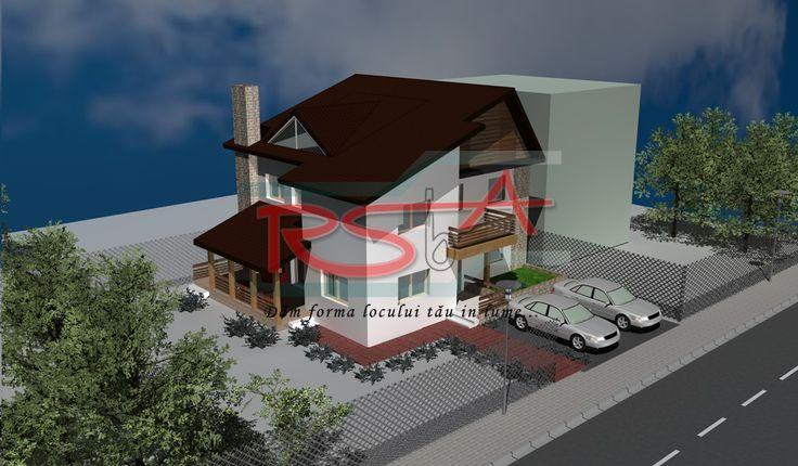 Casa cu etaj -  Ilfov   RSbA - Birou de arhitectura   http://rsba.ro