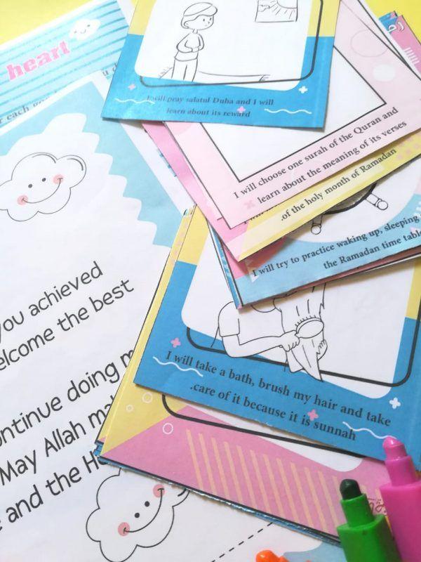 The 90 Good Deeds Program For Kids Part 3 رياض الجنة Preschool Arts And Crafts Programming For Kids Kids Part