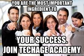 You are the most important ingredient to your  success.   Join TechAge Labs Academy  Contact Details:- TechAge Labs Academy C-46 Ground Floor, Sector-2, Noida-201301. Phone no.: 0120-4540894,9818993532 Email    : info@techagelabs.com          : hr@techagelabs.com Website  : http://www.techagelabs.com/training/
