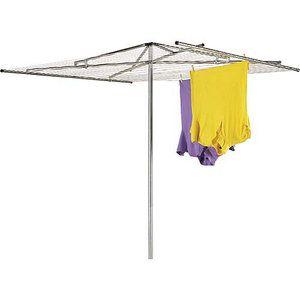 clothes line, could put in patio umbrella stand instead of ground $40.97