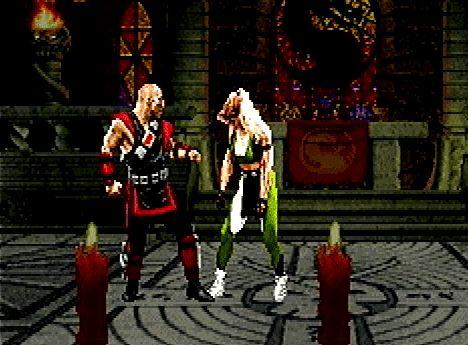 n64thstreet:  Kano prepares some boneless meat in Mortal Kombat Trilogy, by Midway.
