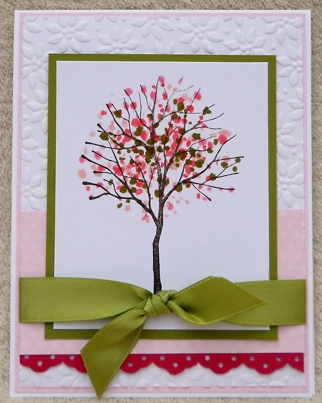 Cards Hand Made Branch Out 3 Cards | eBay