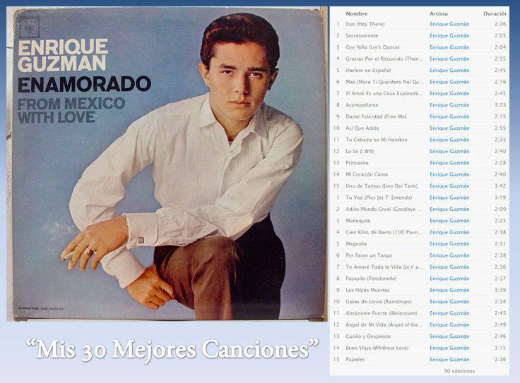 Enrique Guzmán - Mis 30 Mejores Canciones- (Rock) - Identi