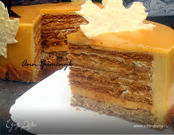 Добрый вечер! Я сегодня к вам на огонек с тортиком. Тортик у меня сегодня с ароматом осени. Не знаю как вы, но когда говорят облепиха, мед — сразу представляется осень. В этом тортике удачно с...