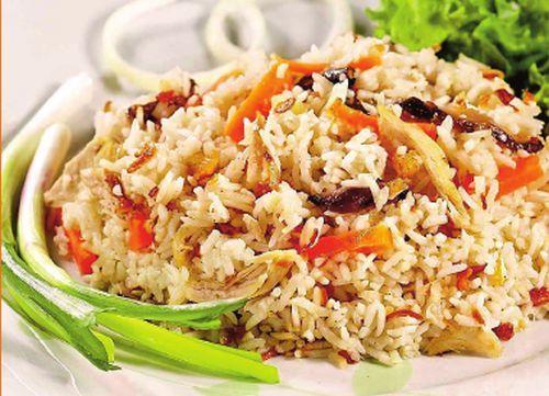 Aperitiv cu pui şi orez