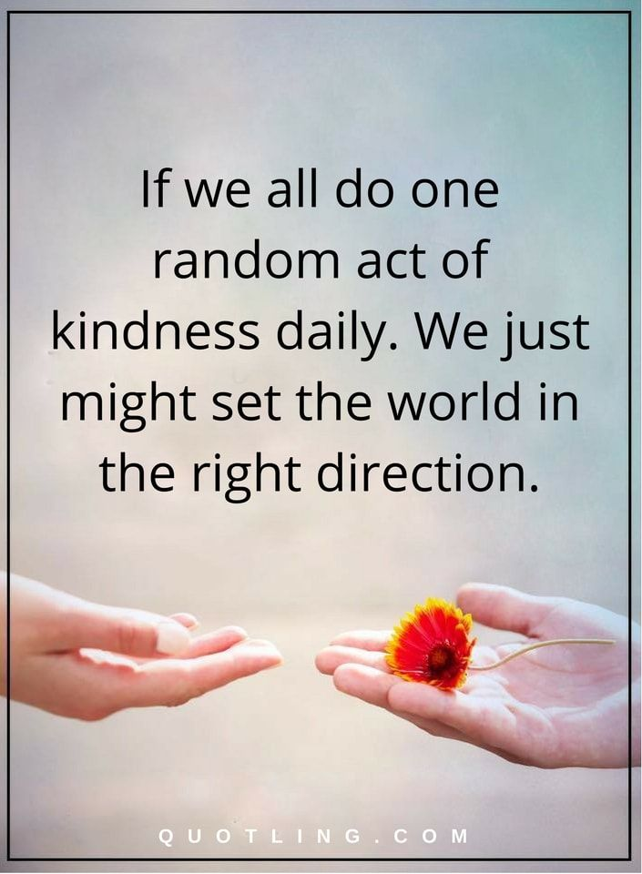 random act of kindness and eye Get inspired, hear from eric johnson what random acts of kindness means to him and some of the random acts of kindness he as a facilitator has witnessed.