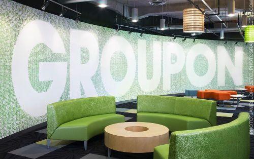 Groupon HQ Lobby