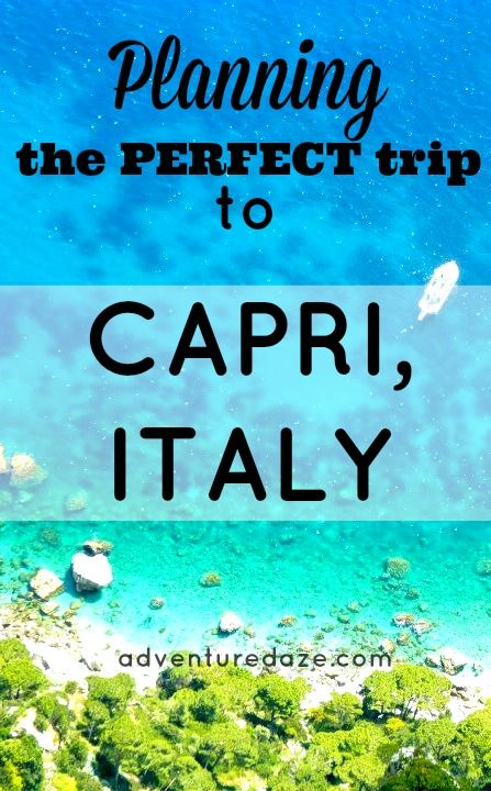 The Isle of Capri offers some of the most stunning views in the world. Plan your trip today.