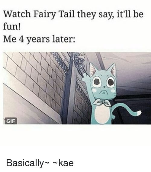 I regret nothing Fairy tail is one of the best things that's happened to me
