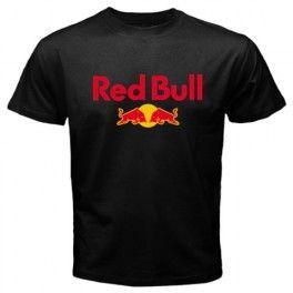 Red bull logo men women t shirt black t shirts for Red bull logo shirt