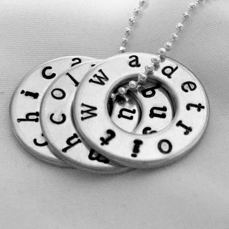 WWA Tour Necklace (US & Canada Tour Dates) One Direction Tour, 1D Jewelry, Where We Are Tour Washers, Pendant, Hand Stamped, 1D Gift by bymissrose on Etsy