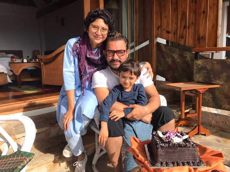 #AamirKhan with his family #Meghalaya