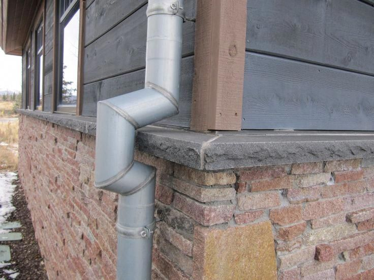 This Type Of Roof Gutters Is Surely An Inspiring And Brilliant Idea Roofgutters In 2020 Zinc Roof Gutters Downspout