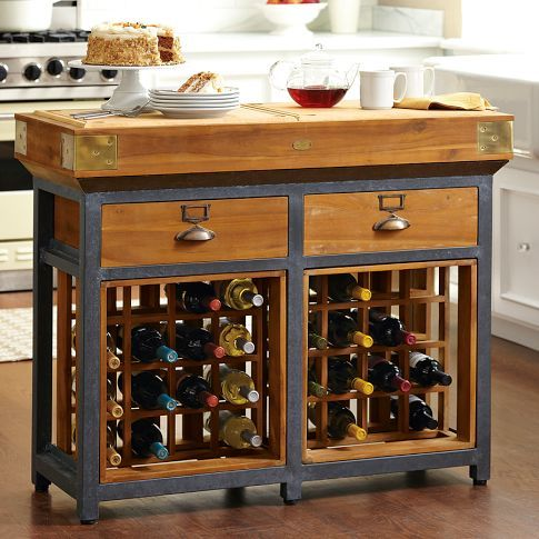 Interested in custom Kitchen Island with wine-coloured rack designs Browse pictures and videos kitchen island wine rack plans.