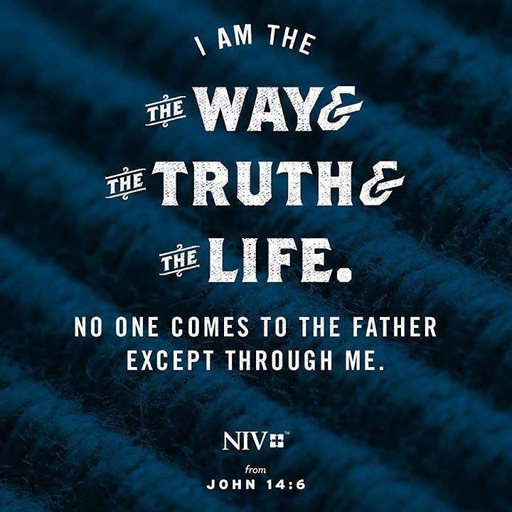 Jesus is the way the truth and the life! via NIV Bible  tr.im/BibleSALE