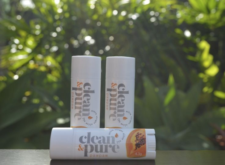 Our beautiful PawPaw all natural lip balm!  Heavenly tropical scent of PawPaw to treat your lips!