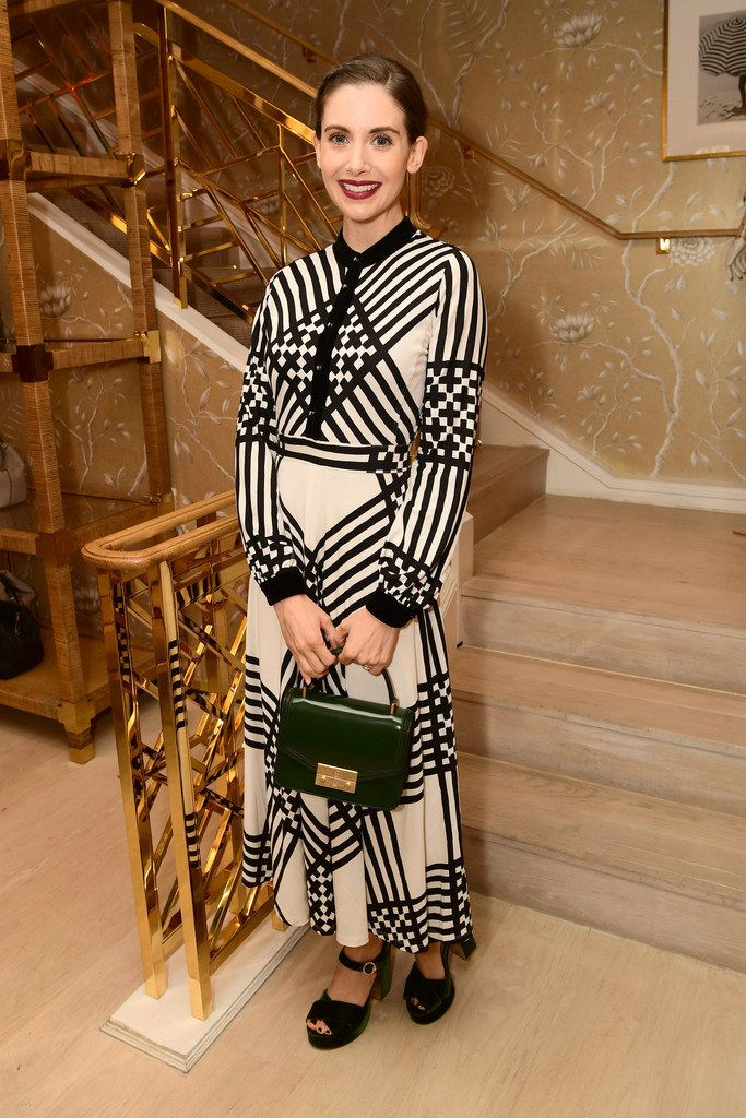 "Alison Brie at the Glamour Mag/Tory Burch ""Women to Watch"" Lunch 