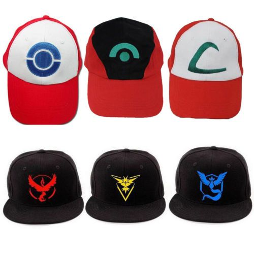 #Pokemon go team ash ketchum #baseball hat hip-hop anime cosplay #unisex sun cap,  View more on the LINK: http://www.zeppy.io/product/gb/2/232027152249/