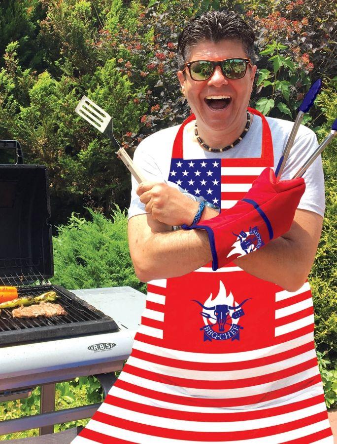 BBQ Chef zástěra na grilování č. GZ/21771
