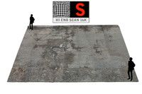 parking surface scanned 3d model