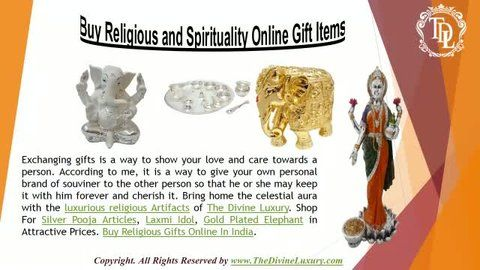 http://www.TheDivineLuxury.com/ Bring home the celestial aura with the luxurious religious Artifacts of The Divine Luxury.Buy Religion and Spirituality Online Gift Shopping Items.So have Buy God Idols Gifts Online at Best Price in India and make them feel loved !
