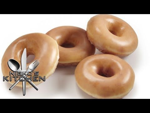 KRISPY KREME DONUTS - VIDEO RECIPE