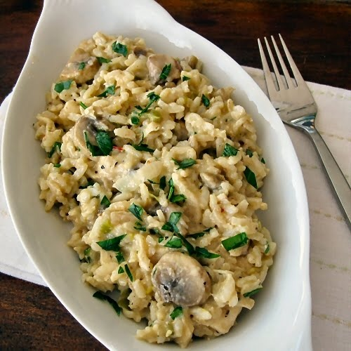 The Other Side of Fifty: Chicken, Mushroom And Brown Rice Casserole