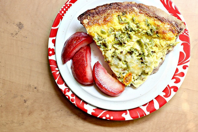Recipe: Corn Quiche in a Teff Crust | Feed Me - Breakfast Savory ...