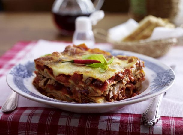 Lasagne Arrabiata mit Thunfisch Rezept | LECKER