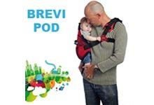 Passeggini per bambini Brevi, fasciatoi, lettini, box, seggiolone, marsupio Pod 0-16 kg
