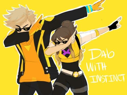 Team Instinct Spark All rights belong to rightful owner -------------------------------------- This is beautiful
