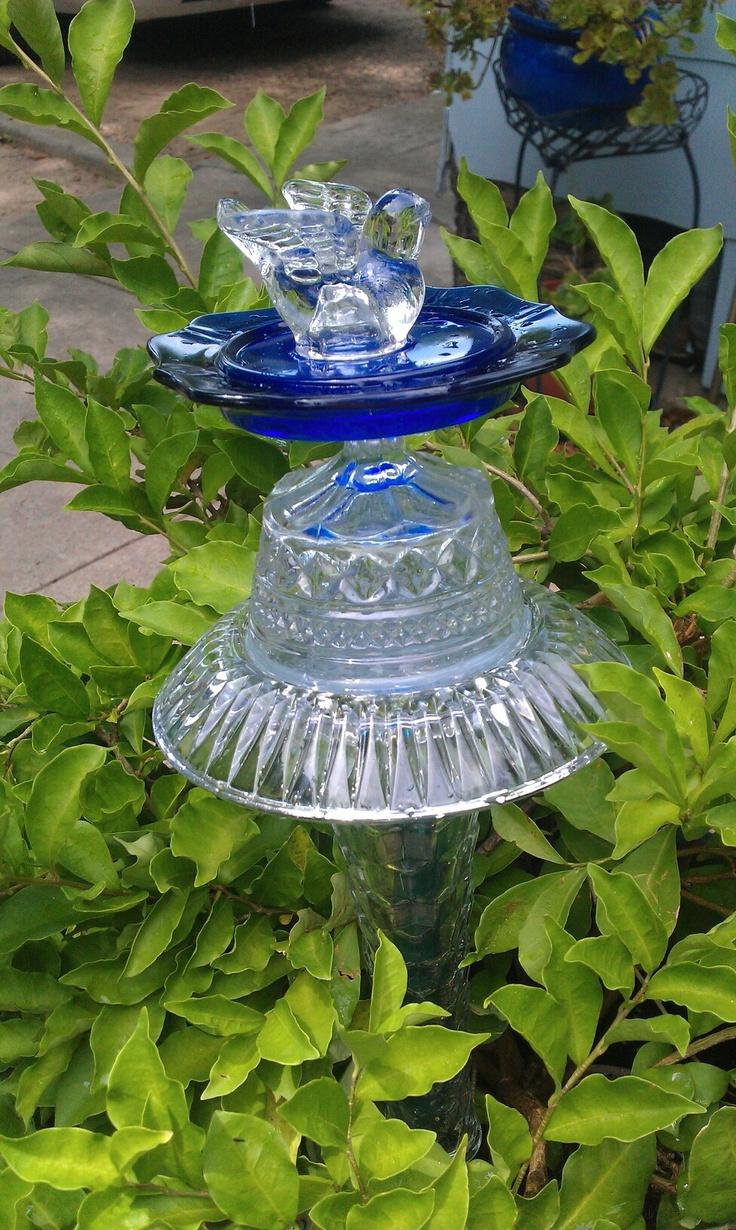 Glass Garden Art Photograph Glass Garden Art Thecolorofs