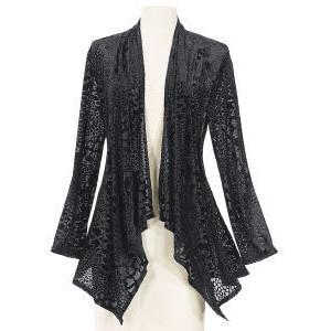 Yummy velvet burnout jacket.... very steampunkish