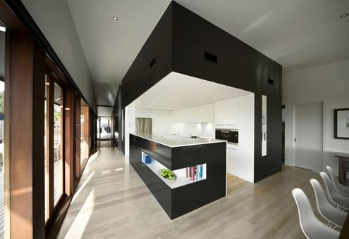 Modern Architecture Interior cape shank house in australiajackson clements burrows