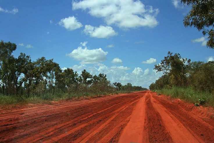 The red roads of the outback