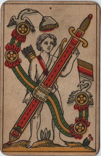1000+ Images About Vintage Tarot & Playing Cards On Pinterest