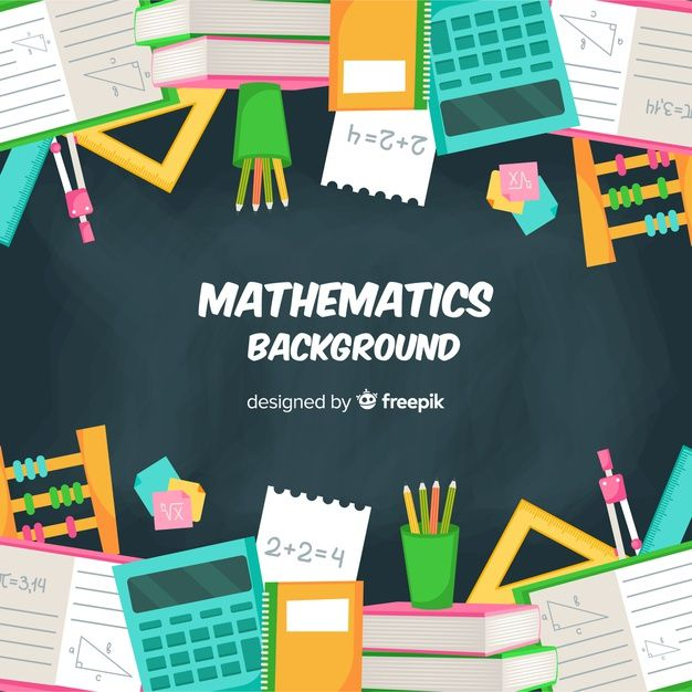 Download Cartoon Math Concept Background For Free Math Concepts Vector Free Concept