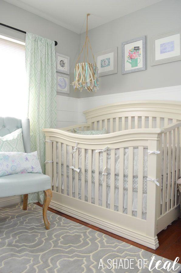 Rustic Glam Nursery One Room Challenge The