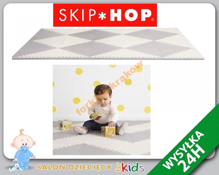 Skip Hop mata  edukacyjna Playspot PUZZLE 144x180