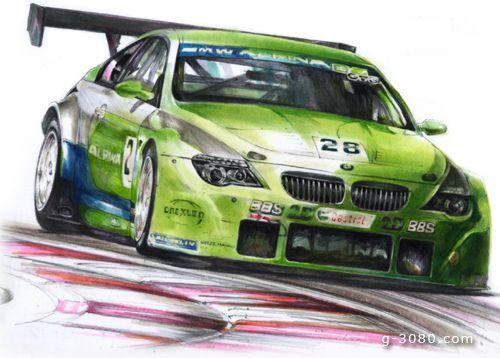 BMW ALPNA B6 GT3