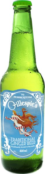 Tassie's own Gillespies ginger beer , best I've ever tried. Great for morning sickness too