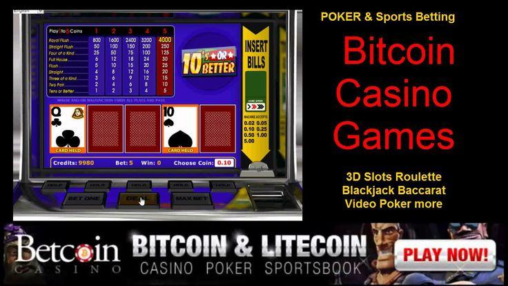 Or better video poker bitcoin casino games bitcoins casino games
