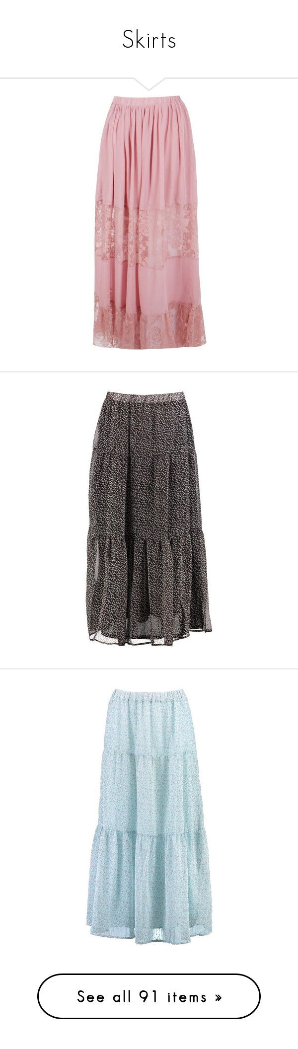 """Skirts"" by lustydame ❤ liked on Polyvore featuring skirts, pleated midi skirts, long pleated maxi skirt, chiffon maxi skirt, pleated chiffon maxi skirt, long maxi skirts, midi circle skirt, long pleated skirt, circle skirt and mini skirt"