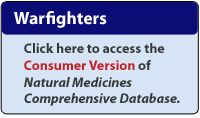 Natural Medicines Comprehensive Database.  Create an account to look up supplement safety, efficacy, and quality information.