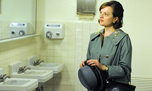 """Mad Men - """"The Suitcase"""", Peggy Olson (Elisabeth Moss), arguably one of the greatest television episodes produced"""