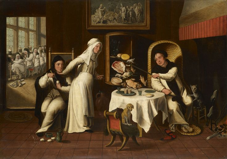 Friars in a Nunnery | Royal Collection Trust