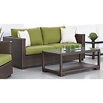 Bordeaux Loveseat with Coffee Table