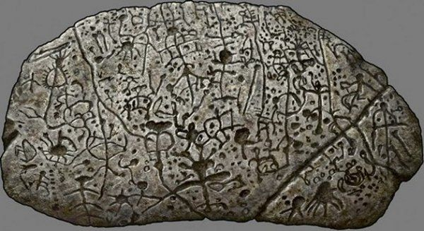 Judaculla Rock - This rock covered with undecipherable symbols is one of the greatest archaeological mysteries of the North America.  Neither scholars nor older residents have been able to decipher it. Neither do they know its true origin nor purpose.  Is it a prehistoric code? Some kind of secret message for future generations of humanity?    Read more: http://www.messagetoeagle.com/juda.php#ixzz2v96454yI