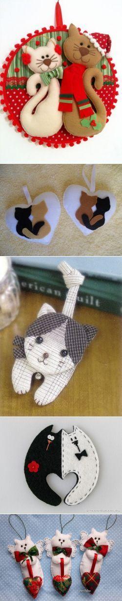 Котейка в рукоделии. 50 идей.